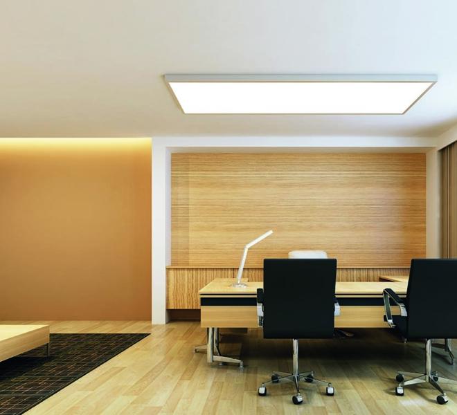 light panel frame ceiling